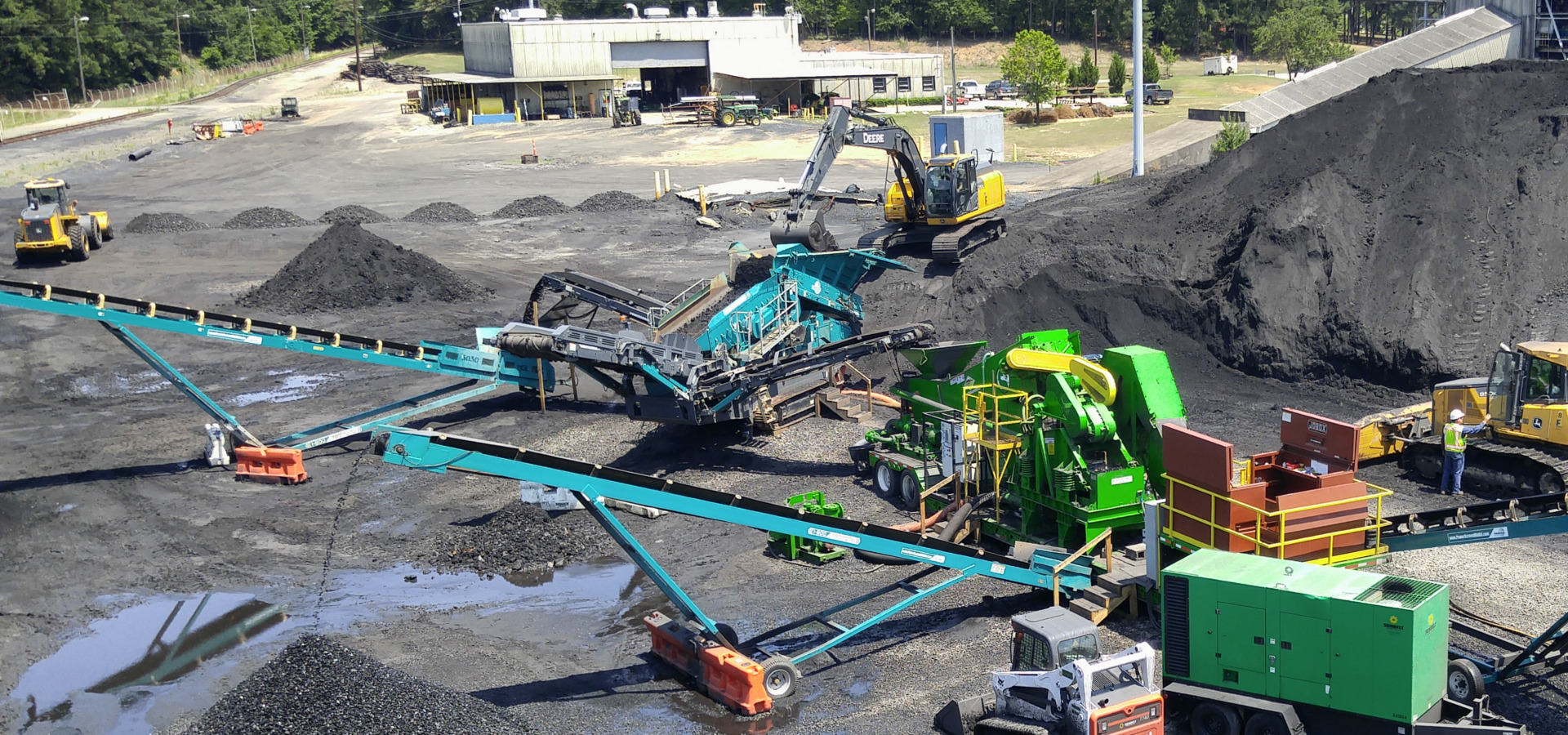 RPM Solutions, a reclamation, ash management and environmental services company, specializes in gob piles.